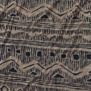 SWELL Tribal Print Dolman Tee